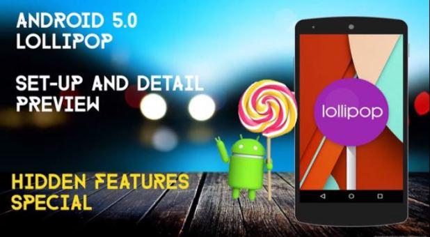 lollipop 5.0 hidden features