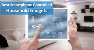 Smartphone Controlled Household Gadgets
