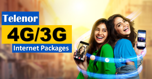 Telenor Internet 4G Packages, Daily, Weekly, Monthly, Day, Night & Postpaid