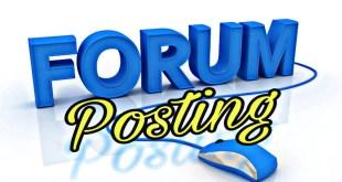 forum posting seo link 2020