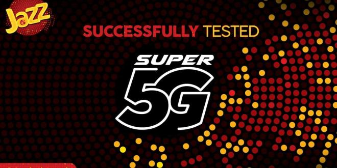 Breaking: Jazz Tested 5G Network Successfully in Pakistan [Video]