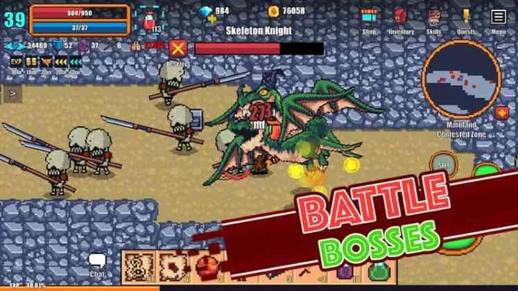 Pixel Knights Online android ios - TOP 10 destaques da semana melhores jogos mobile de 08 a 14 de julho