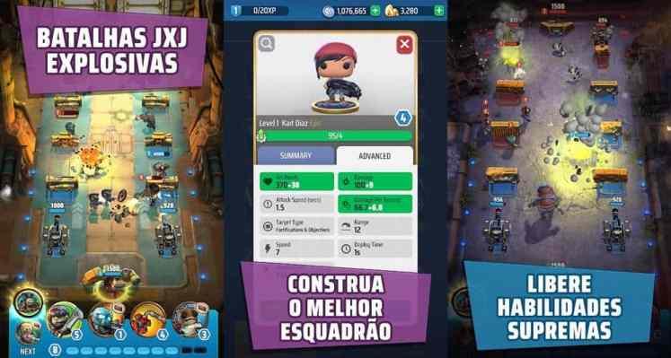 gears pop android iphone - Destaques da semana dos jogos para Mobile de 12 a 25 de agosto