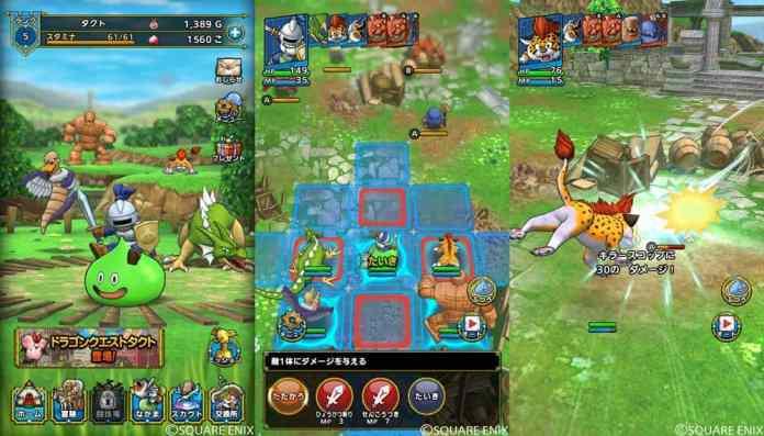 Dragon-Quest-Tact Dragon Quest Tact será lançado dia 27 de janeiro no Android e iOS