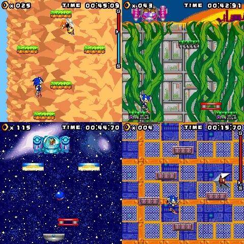 Sonic-jump-gameplay Sonic 30 anos: relembre os jogos para celular do mascote da SEGA