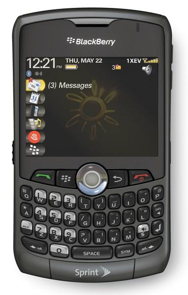 The BlackBerry Curve