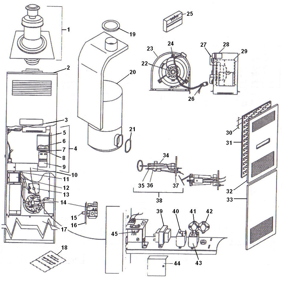 Coleman 3400 Electric Furnace Wiring Diagram Coleman