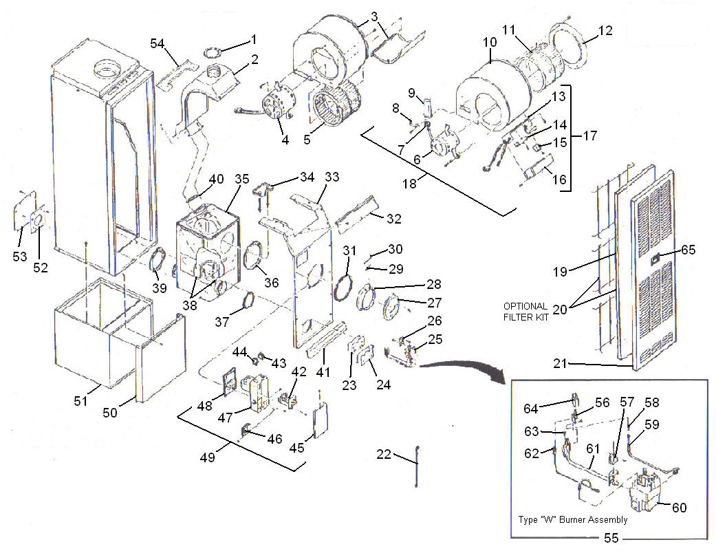 Basic Oil Furnace With Thermostat Wiring Diagram