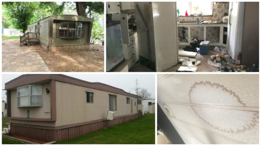 Inspecting a Used Mobile Home     What to look for      Mobile Home     mobile home inspections pic 2