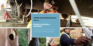 Manufactured home maintence
