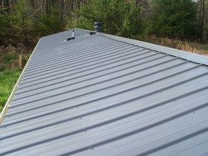 metal roofs on mobile homes
