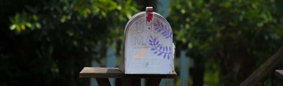 Whimsical mailbox