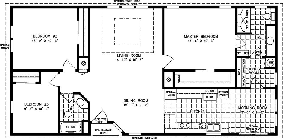 TNR Floorplan 4544B Model