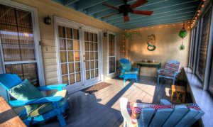 Porch with chair furniture