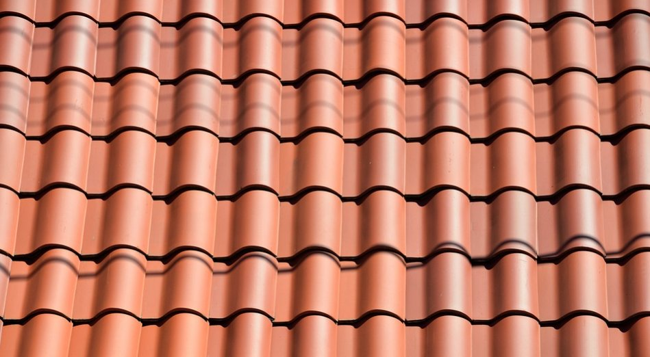 Clay tile roof