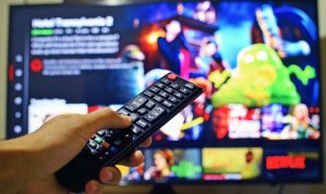 Remote control for TV with Netflix