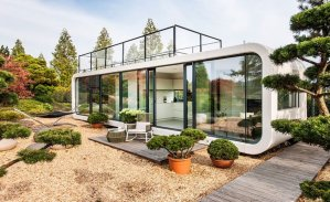 """A """"coodo"""", modern form of a mobile home"""