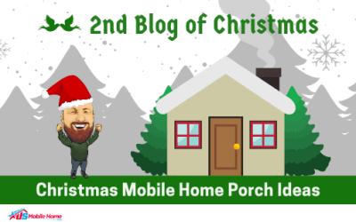 2nd Blog Of Christmas: Christmas Mobile Home Porch Ideas