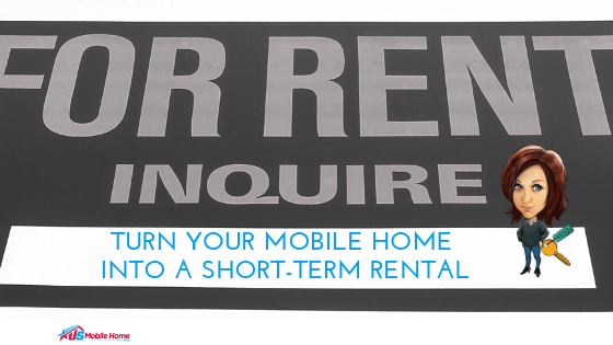 """Featured image for """"Turn Your Mobile Home Into A Short-Term Rental 