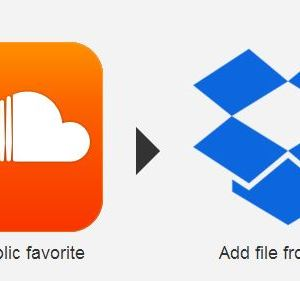 IFTTT: Soundcloud-Favoriten direkt in Dropbox downloaden