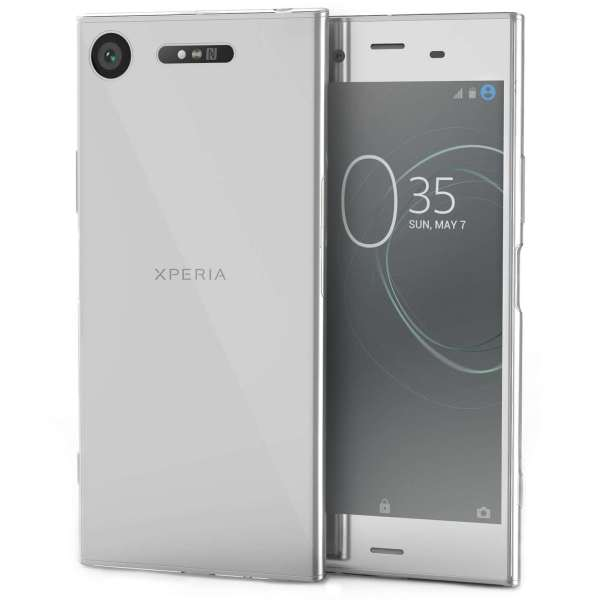 Sony Xperia XZ1 Ultra Thin Silicone Case - Crystal Clear