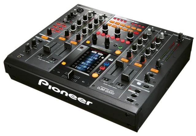 Pioneer DJM-2000 Pro Audio Multi-Touch Mixer