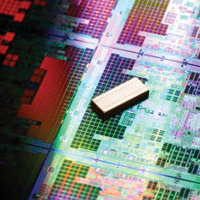 Intel's latest Atom chip is rumoured to be a low-power portable version of its desktop dual-core processors.