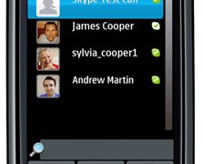 Skype now available for Nokia smartphones in Ovi Store. Free Skype-to-Skype and low cost international calls available over 3G and WiFi for over 200 million Nokia smartphone users around the world (Photo: Business Wire).