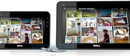 Dell Streak Tablets side by side Photo: Engadget