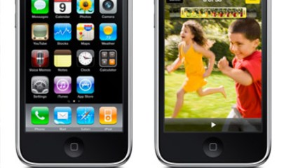 iPhone 3GS and iPhone 3G Side by Side