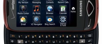 Samsung U290 Reality on Verizon Wireless