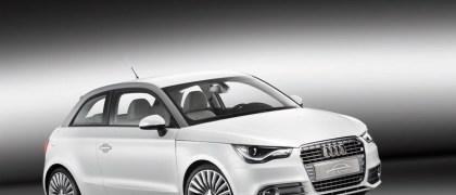 Audi A1 Etron Concept Vehcile