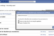 BlackBerry chat on FaceBook would be a dream to many users.