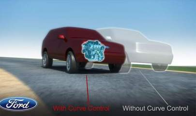 Ford 2011 Explorer to feature Curve Control