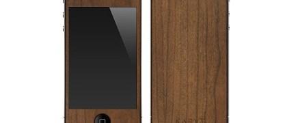 iPhone 4 Cherry Wood skin
