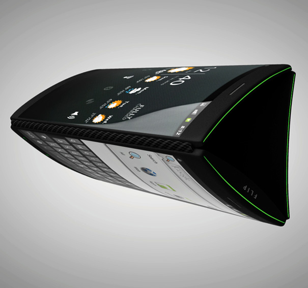 Yanko's Flip smartphone concept boasts three Super AMOLED touchscreens