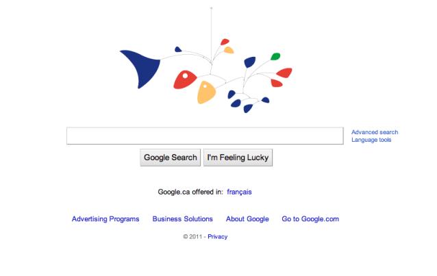 Google interactive doodle