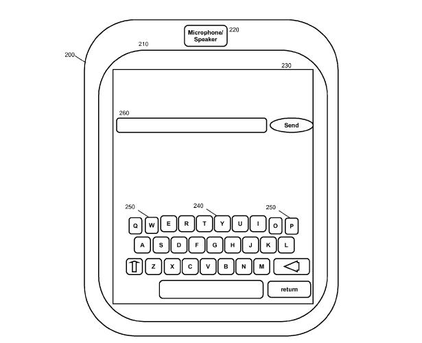 IBM virtual keyboard