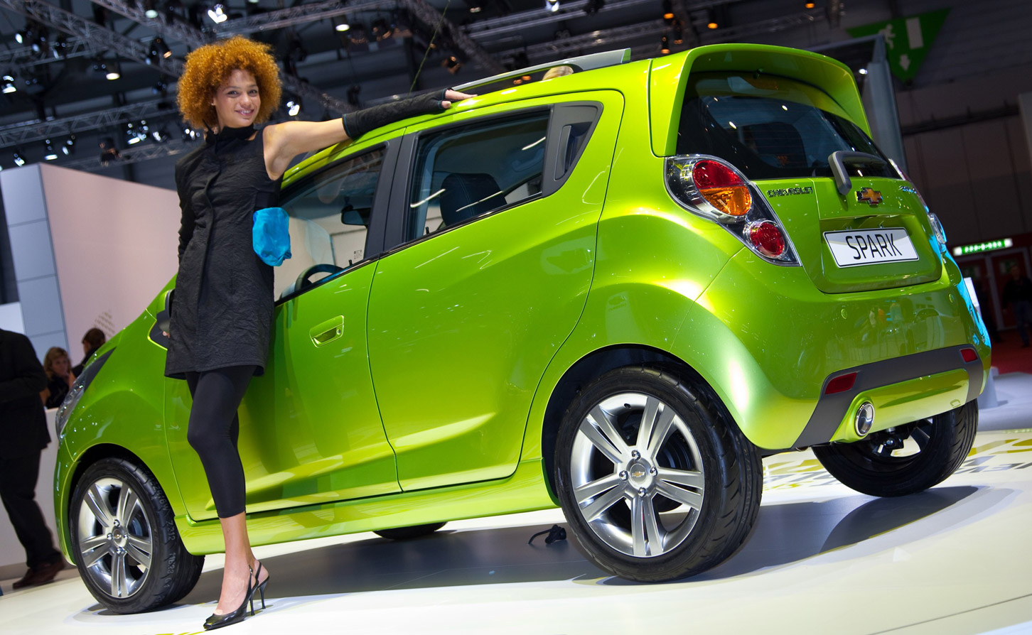 new car launches of 2013GM Announces AllElectric Chevy Spark EV for 2013  Mobile Magazine