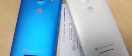 White Huawei