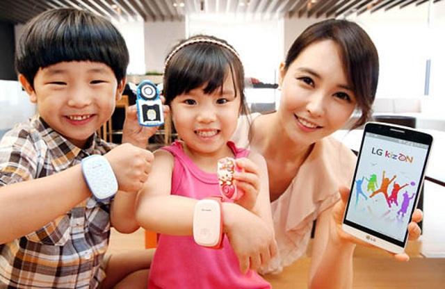 LG_KizON_wearable_kids