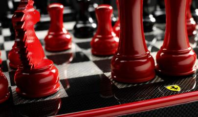Ferrari-carbon-fiber-chess-set-2