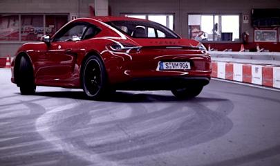 Porsche-Cayman-GTS-go-kart