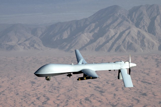 MQ-1_Predator_unmanned_aircraft Flights of the Future: Unmanned Aircraft and the Air Cargo Industry
