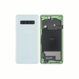 Galaxy S10 (G973) Rear Glass With Camera Lens – Prism White