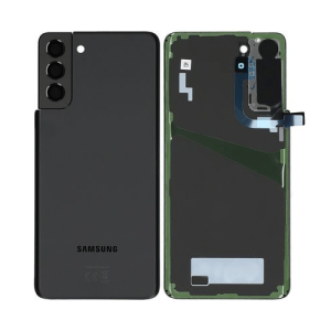 Galaxay S21 Plus 5G G996 Service Pack Rear Glass Replacement Black