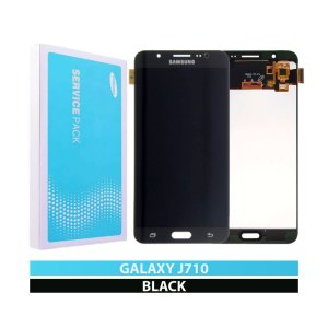 Galaxy J7 2016 (J710) LCD and Digitizer Touch Screen Assembly – Black