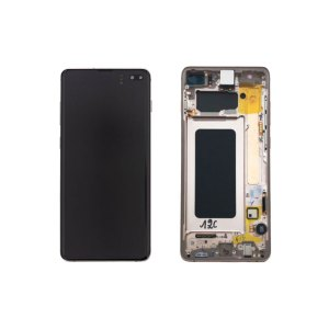 Galaxy S10 Plus G975 Service Pack Display Replacement Ceramic White