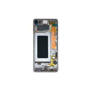 Galaxy S10 G973 Service Pack LCD Display Replacement Prism White