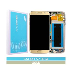Galaxy S7 Edge G935F Service Pack LCD Display Replacement Gold